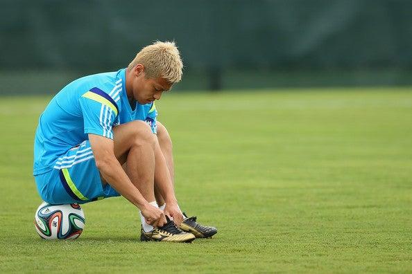 本田圭佑 日本代表 keisuke honda ブラジルワールドカップ W杯