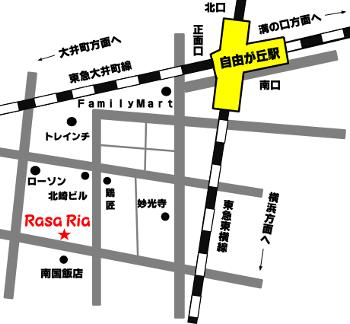 お店略地図