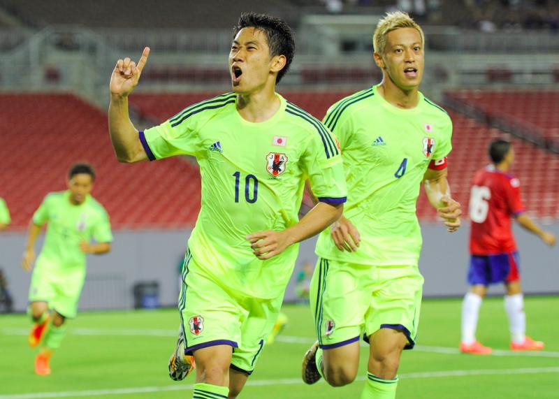 香川真司 本田圭佑 日本代表 ワールドカップ ブラジルW杯 親善試合 コスタリカ代表 逆転勝利 強化