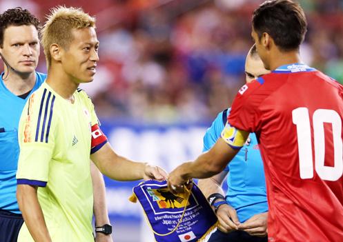 本田圭佑 日本代表 ワールドカップ ブラジルW杯 親善試合 コスタリカ代表 逆転勝利 強化