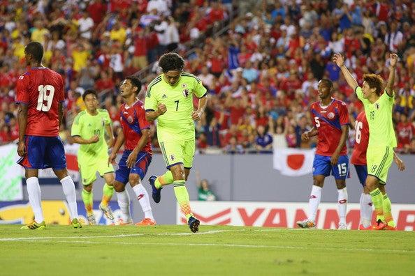 遠藤保仁 日本代表 ワールドカップ ブラジルW杯 親善試合 コスタリカ代表 逆転勝利 強化