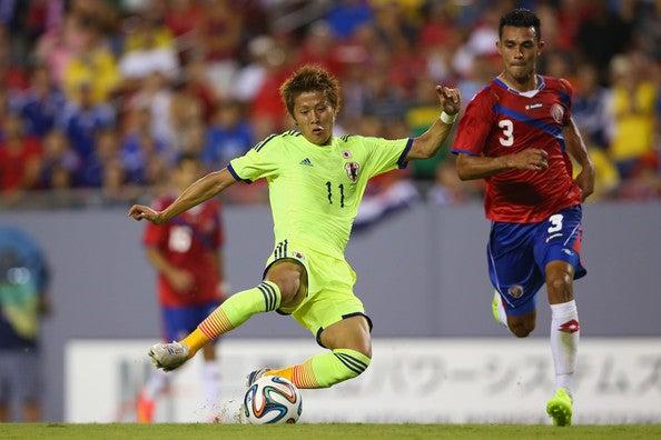 柿谷曜一朗 日本代表 ワールドカップ ブラジルW杯 親善試合 コスタリカ代表 逆転勝利 強化