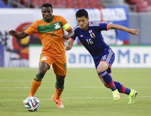 山口蛍 日本代表 ザンビア 親善試合 強化 逆転勝利 ゴール ブラジル ワールドカップ W杯