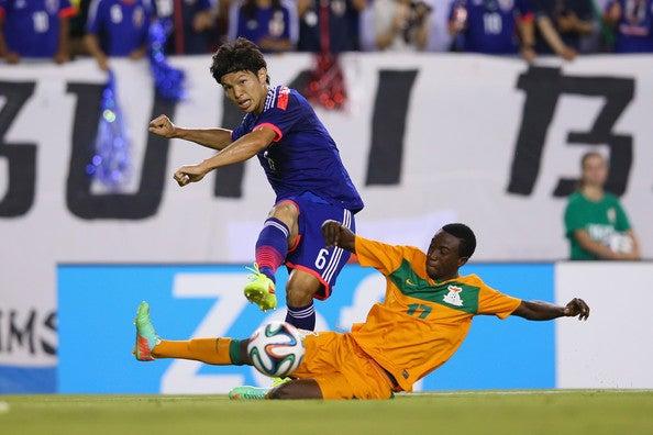 森重真人 日本代表 ザンビア 親善試合 強化 逆転勝利 ゴール ブラジル ワールドカップ W杯