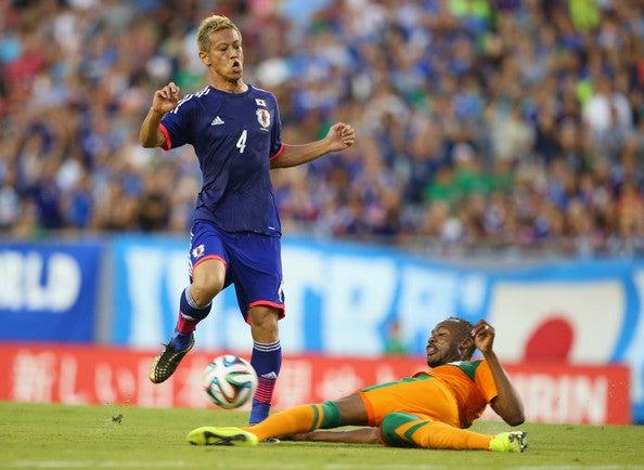 本田圭佑 日本代表 ザンビア 親善試合 強化 逆転勝利 ゴール ブラジル ワールドカップ W杯