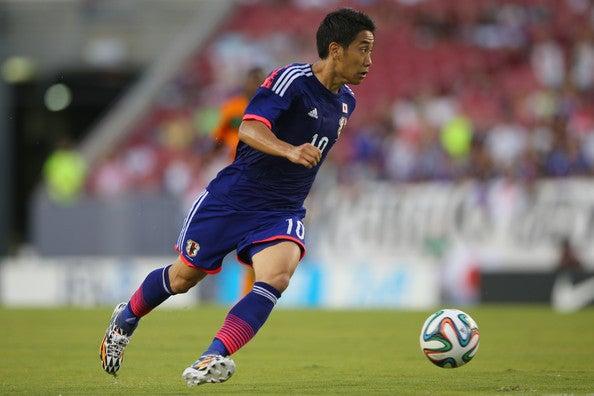 香川真司 日本代表 ザンビア 親善試合 強化 逆転勝利 ゴール ブラジル ワールドカップ W杯