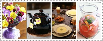 紅茶とテーブルコーディネート