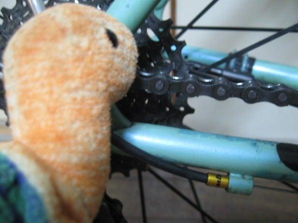 自転車のチェーンカッターの使い方 : モ ...