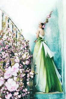 グリーンのカラードレスって少ない?*