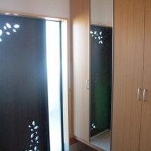 ◆玄関の鏡の掃除道具…