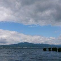 久しぶりの琵琶湖 …