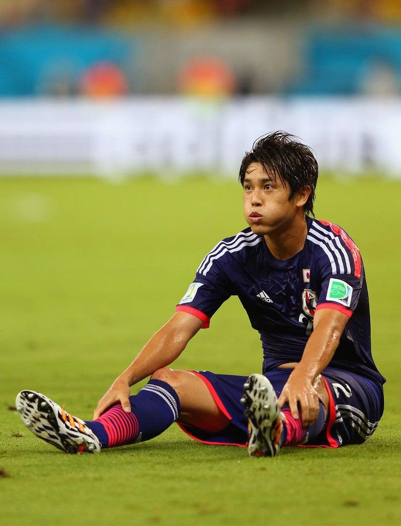 内田篤人 先制 日本代表 ブラジルワールドカップ W杯 初戦 コートジボワール 逆転負け