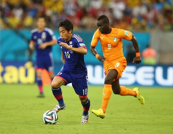 香川真司 日本代表 ブラジルワールドカップ W杯 初戦 コートジボワール 逆転負け