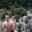 【動画】爆笑!!池に…