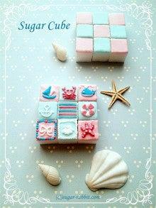 シュガーキューブ サマーバージョン(角砂糖の絞り)