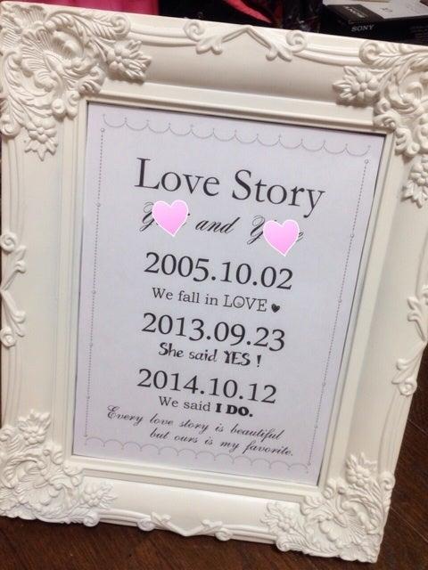 Love Storyウェルカムボード♡ ...