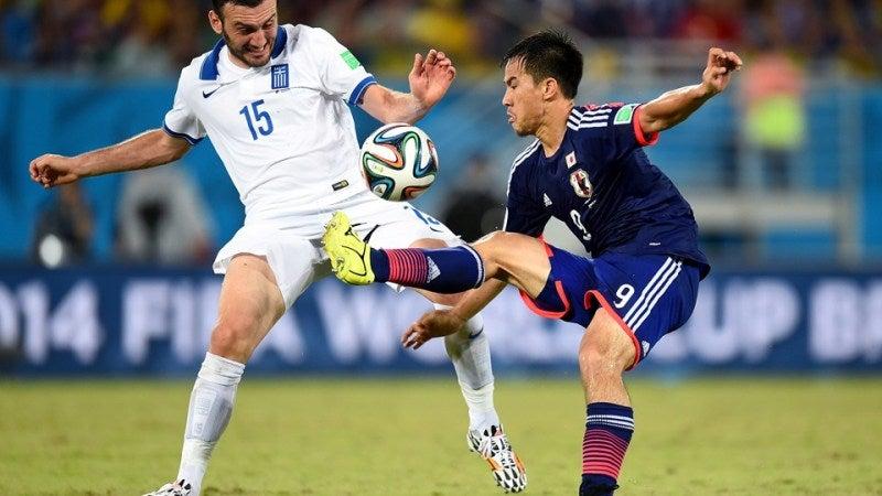 岡崎慎司 ブラジルワールドカップ W杯 日本代表 ギリシャ スコアレスドロー グループC