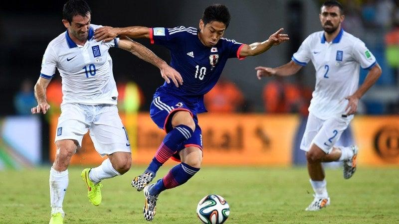 香川真司 ブラジルワールドカップ W杯 日本代表 ギリシャ スコアレスドロー グループC
