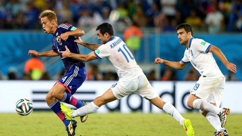 本田圭佑 ブラジルワールドカップ W杯 日本代表 ギリシャ スコアレスドロー グループC