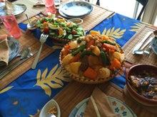 チュニジア料理教室のランチ