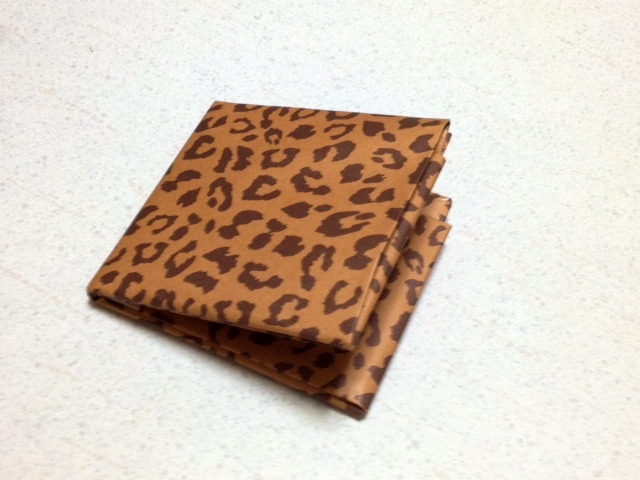 折りの財布 長方形で折り紙 ...