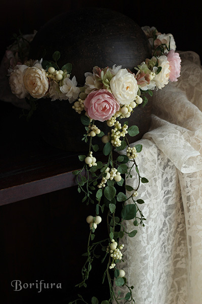 ウエディング 花冠