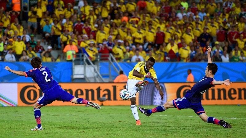 ブラジルワールドカップ W杯 日本代表 コロンビア グループC グループリーグ敗退