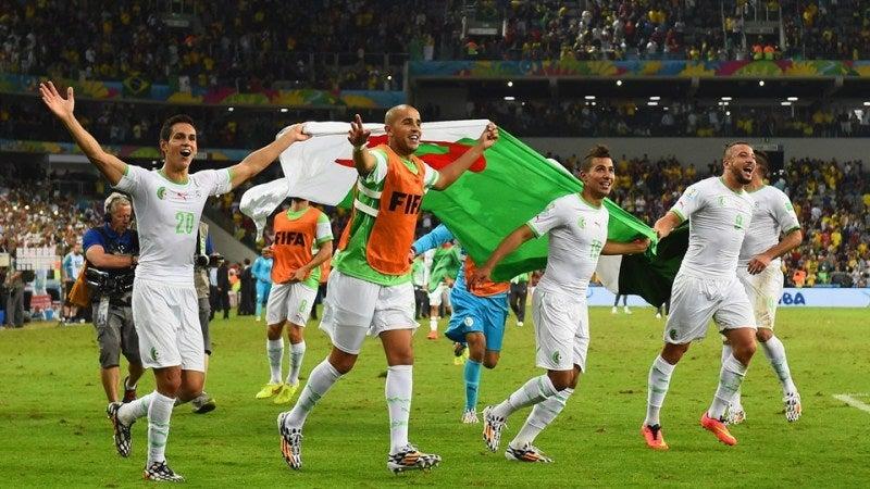 アルジェリア代表 ブラジルW杯 ワールドカップ 決勝トーナメント ベスト16