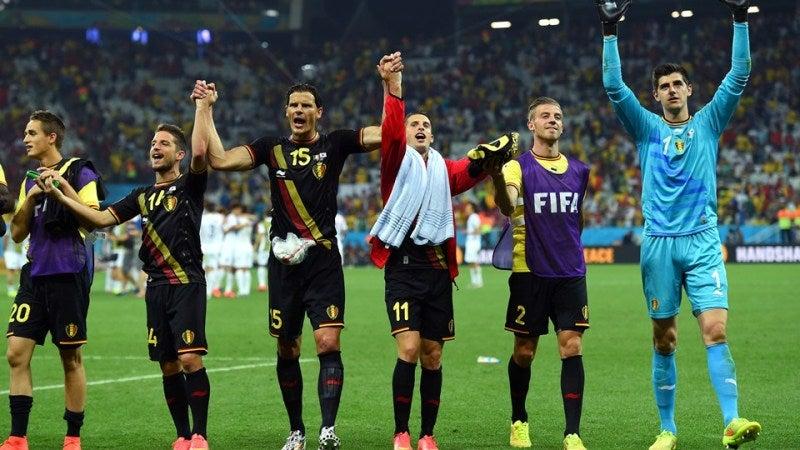 ベルギー代表 ブラジルW杯 ワールドカップ 決勝トーナメント ベスト16