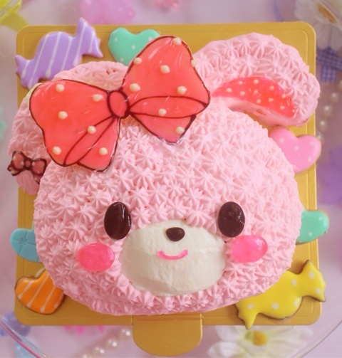 ぼんぼんりぼんちゃん ケーキ|愛知県豊川市 かわいくておいしいケーキ屋さん Milkymoco オーダーケーキ アイシングクッキー マカロン ケーキポップス 内祝