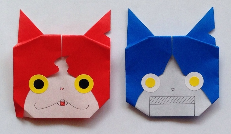 クリスマス 折り紙 妖怪 折り紙 折り方 : ameblo.jp