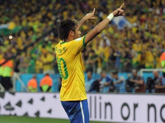 ネイマール ブラジルW杯 ワールドカップ 決勝トーナメント ベスト16