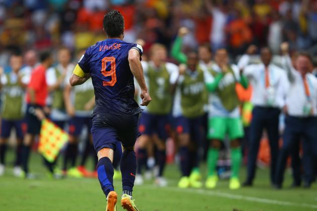 オランダ ファンペルシ ブラジルW杯 ワールドカップ 決勝トーナメント ベスト16