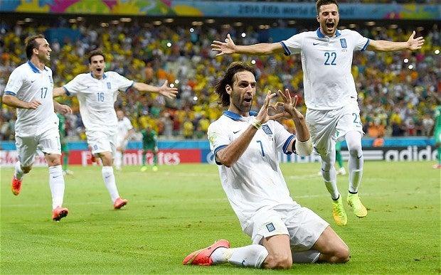 ギリシャ サマラス ブラジルW杯 ワールドカップ 決勝トーナメント ベスト16