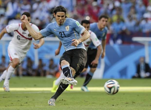 ウルグアイ カバーニ ブラジルW杯 ワールドカップ 決勝トーナメント ベスト16