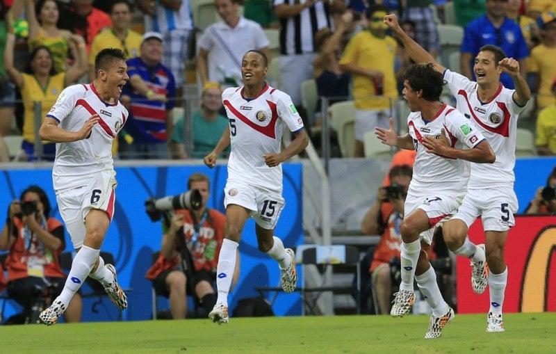 コスタリカ ブラジルW杯 ワールドカップ 決勝トーナメント ベスト16