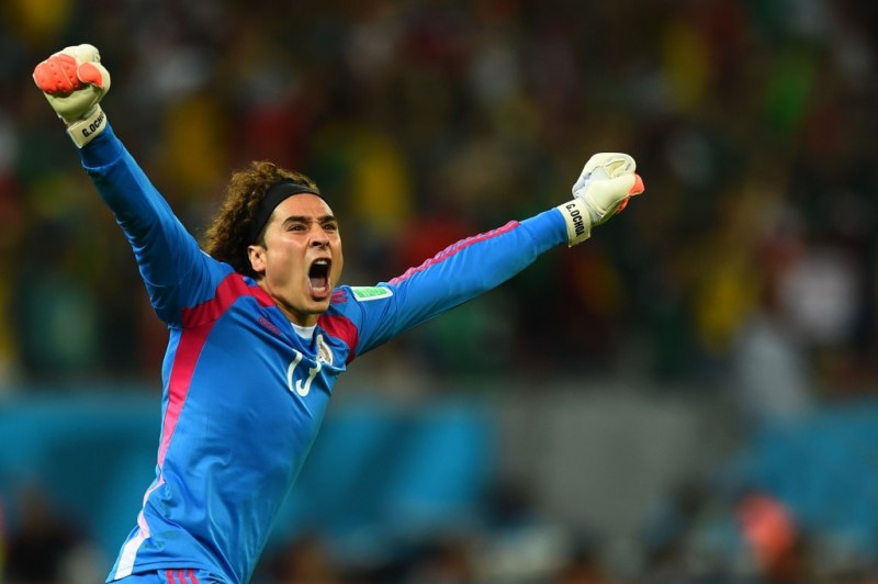 メキシコ オチョア ブラジルW杯 ワールドカップ 決勝トーナメント ベスト16