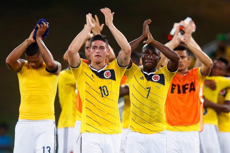 コロンビア代表 ハメス・ロドリゲス ブラジルW杯 ワールドカップ 決勝トーナメント ベスト16