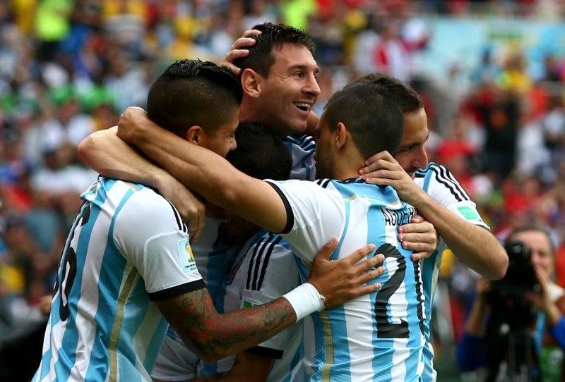 メッシ アルゼンチン ブラジルW杯 ワールドカップ 決勝トーナメント ベスト16