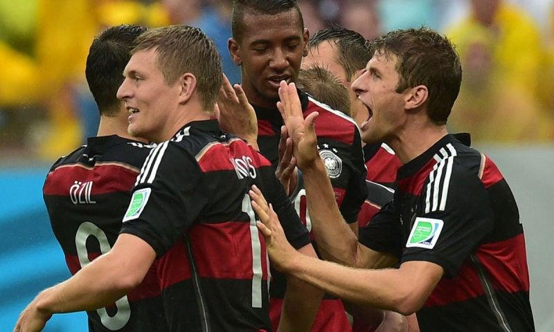 ドイツ代表 ブラジルW杯 ワールドカップ 決勝トーナメント ベスト16