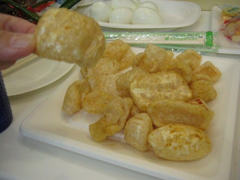 豚皮揚げを食べる会in山梨・石和温泉