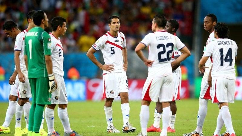 ブラジルワールドカップ W杯 決勝トーナメント1回戦 コスタリカ ギリシャ 初のベスト8