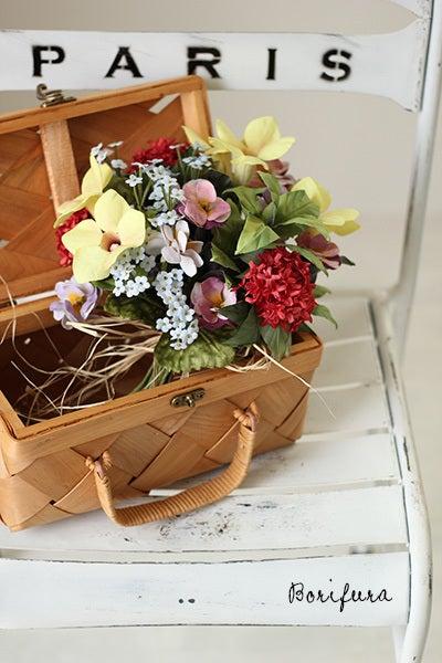 布花 花束