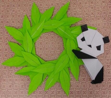 ハート 折り紙:笹の葉 折り紙-ameblo.jp