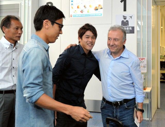 内田篤人 長谷部誠 ザッケローニ監督 ブラジルワールドカップ W杯 ベスト8