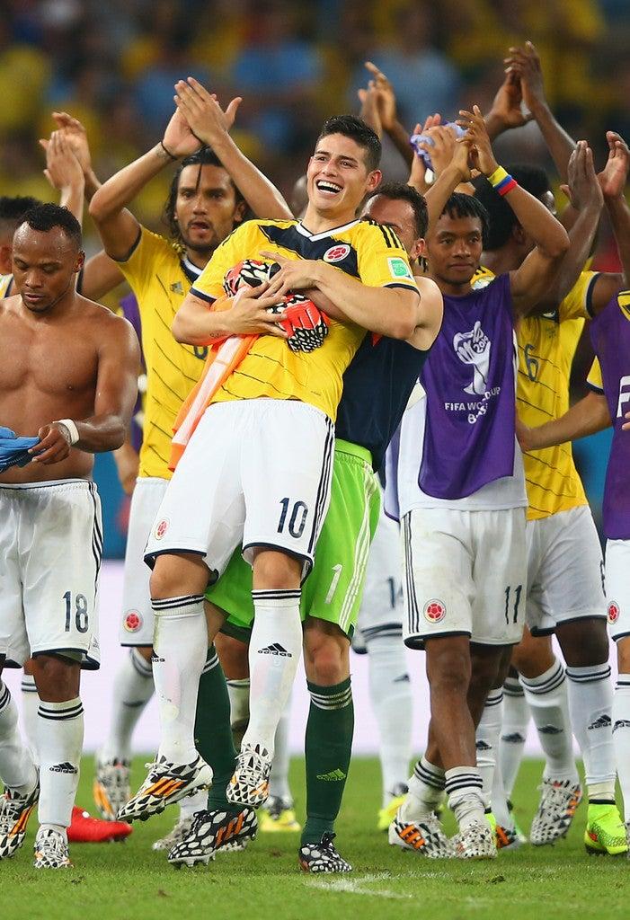 ブラジルワールドカップ W杯 ベスト8 準々決勝 決勝トーナメント