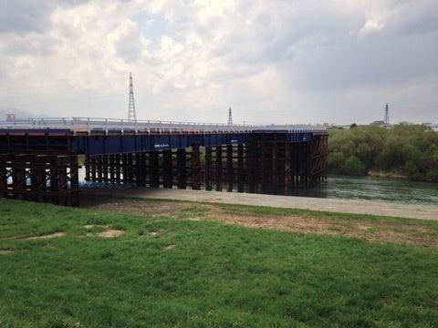 ミニレポ003「北24条大橋建設の様子」