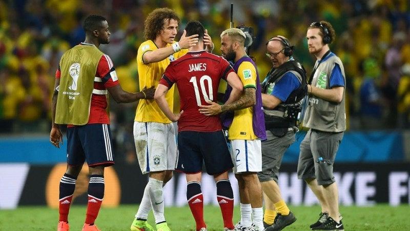 ブラジルワールドカップ W杯 ブラジル コロンビア 準々決勝 ベスト4 南米対決