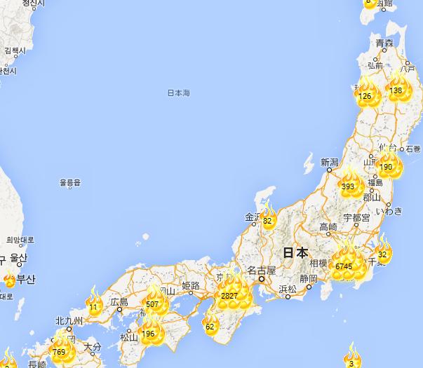 てる 地図 大島