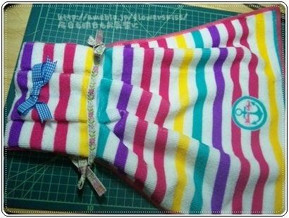 まずはタオルを半分に折って作れる簡単ドレスタオルからご紹介していきましょう♪